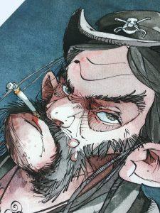 Lemmy Portrait Musiker