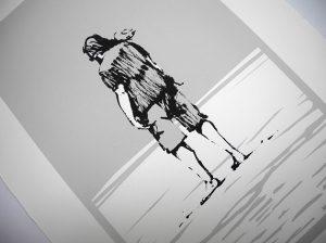 silkscreen edition Bild Siebdruck