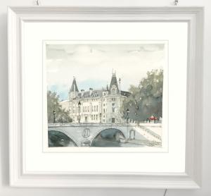 Rahmen Paris Bild