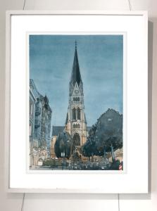 Rahmen Münster Kreuzkirche