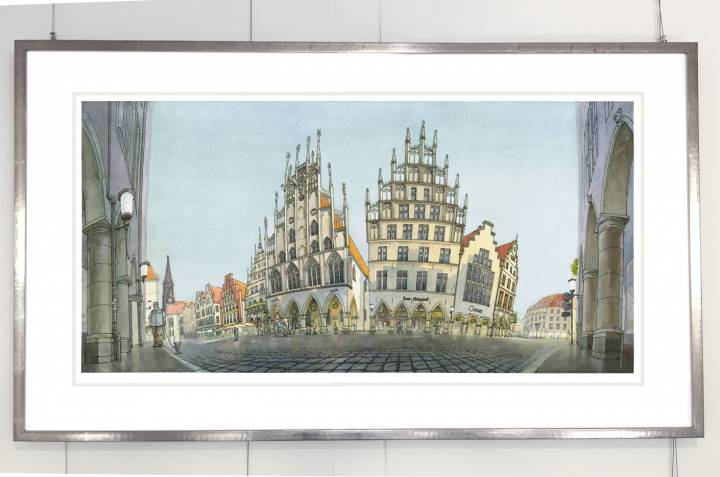 Rahmen Prinzipalmarkt Münster