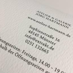 Gutschein Galerie Jörg Hartmann